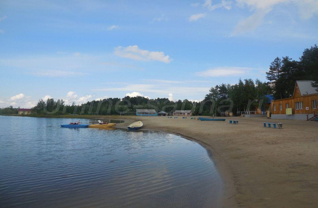Голубое озеро, база отдыха